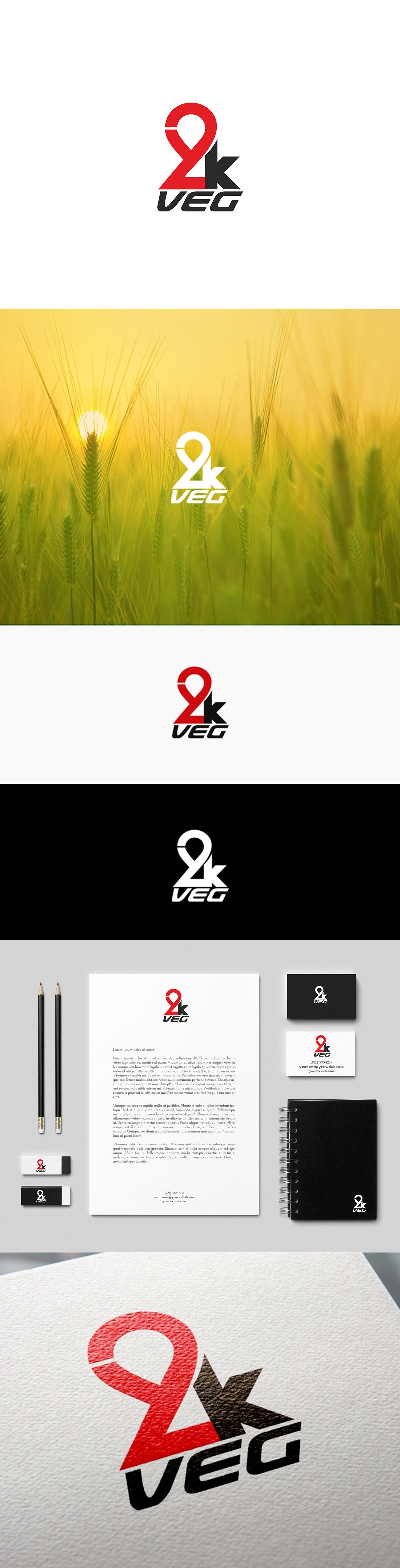 2kveg logo tasarım